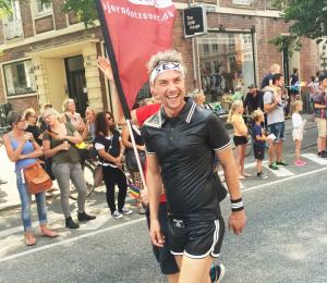 Bjorn Dotzauer siger tak for en god Pride 2015