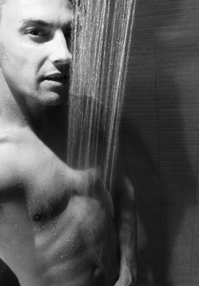 Bjorn Dotzauer i bad